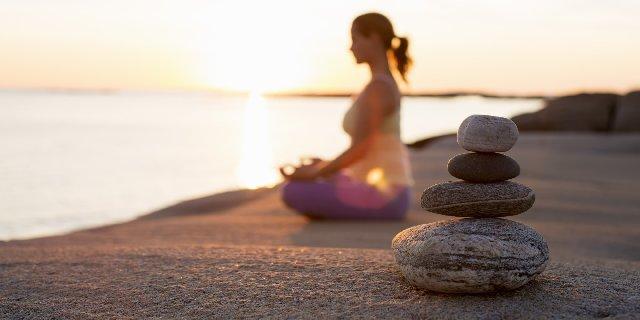 meditacijom protiv znojenja od stresa
