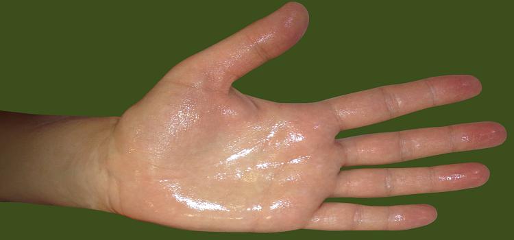 mokre ruke