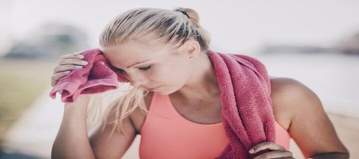 znojenje glave tokom vežbanja