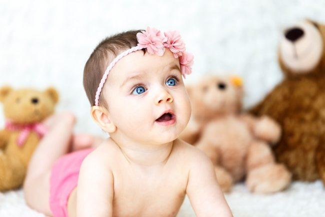 znojenje kod beba
